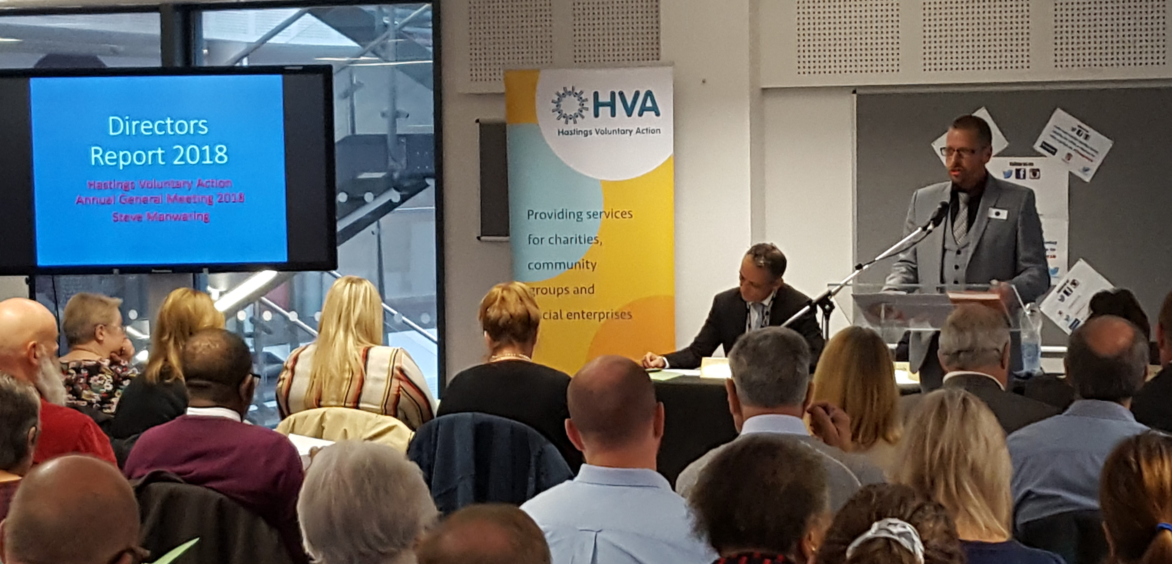 Hvas Agm Conference 2019 Hastings Voluntary Action