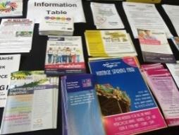 Open Mic leaflets